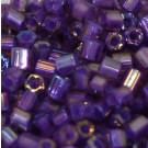 Glasstifte violett gelüstert