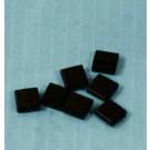 Tila 2-Lochperlen schwarz