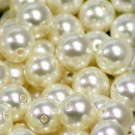 Crystal Pearls white